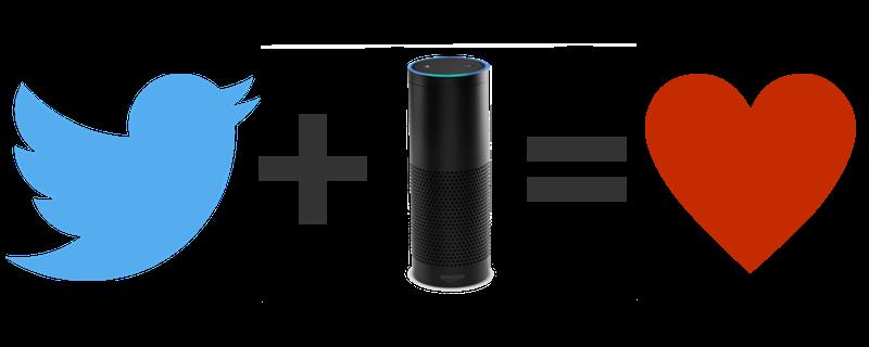 Twitter plus Alexa equals love