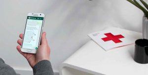 Deutsches Rotes Kreuz Corona WhatsApp Bot