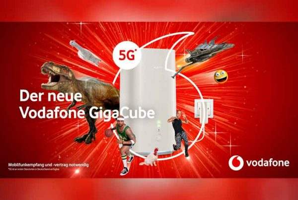 Vodafone GigaCube Alexa Skill Radio Kampagne