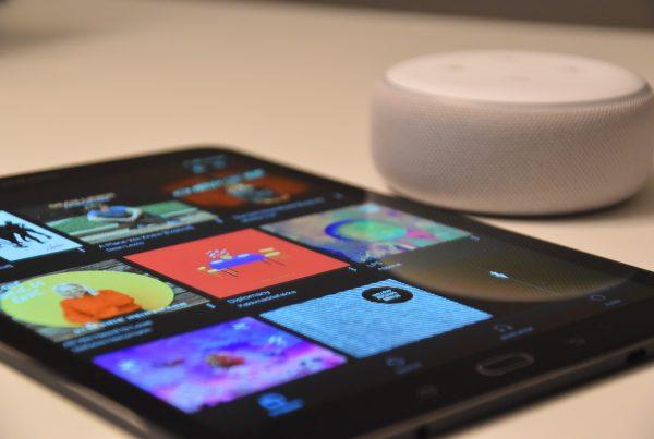 Smartphone mit Apps