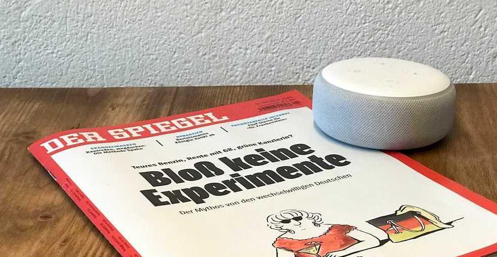 """Alexa, lies mir den SPIEGEL vor"""