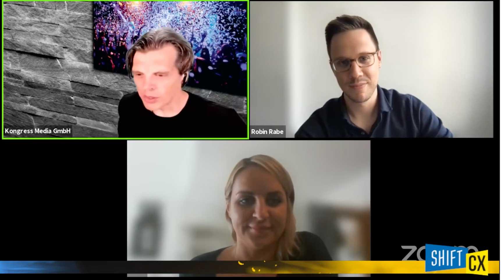 Chat- und Voicebots im eCommerce: Future of Voice bei der Shift/CX 2021